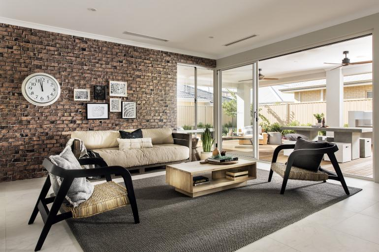View Photo: havana display home - open plan living