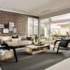 havana display home - open plan living