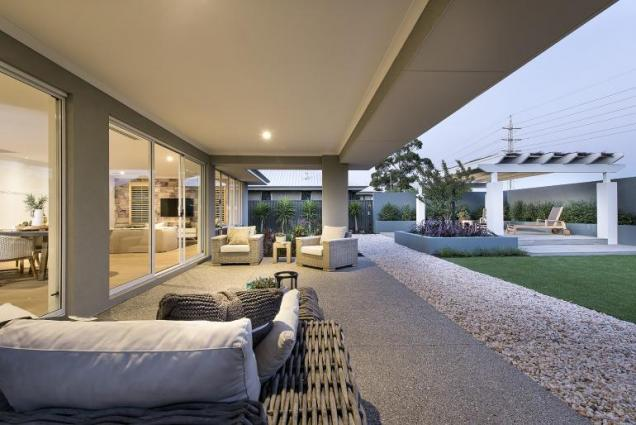 View Photo: newport display home - alfresco