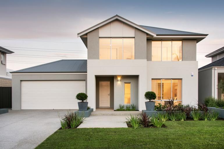 newport display home - elevation
