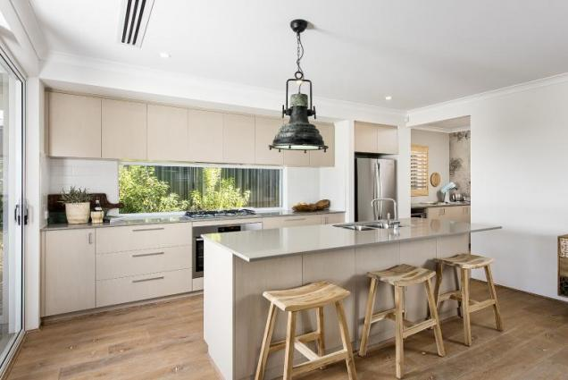 View Photo: newport display home - kitchen and scullery