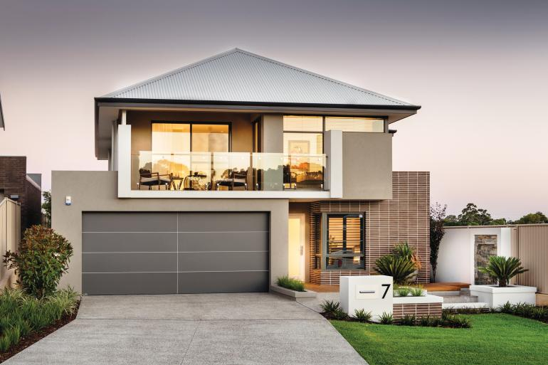 sentosa display home - elevation