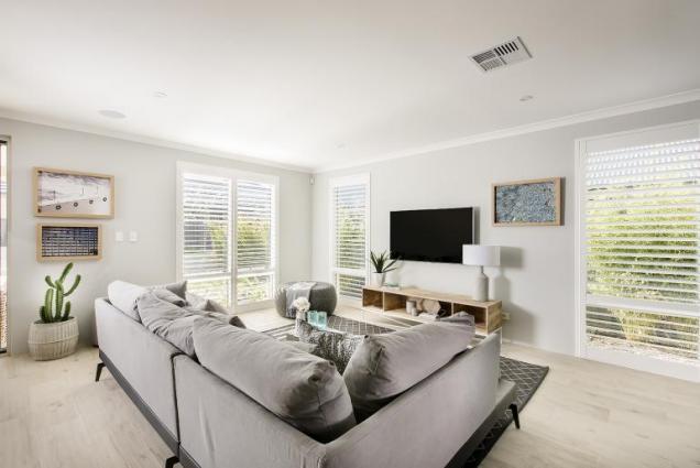 View Photo: vista display home - living area