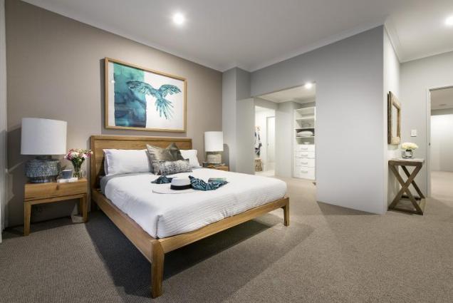 View Photo: vista display home - master bedroom