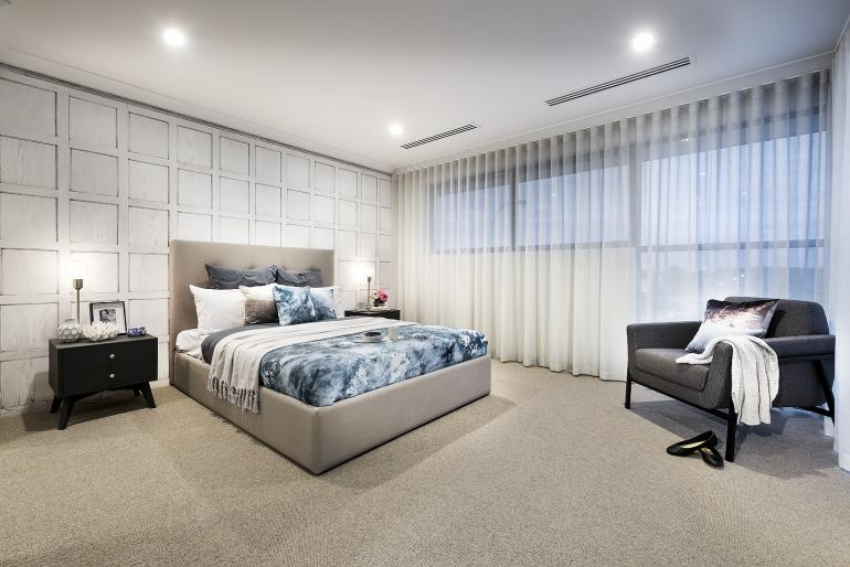 View Photo: Vogue display home - master bedroom