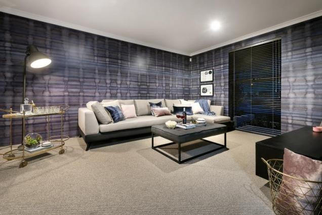 View Photo: vogue display home - media room