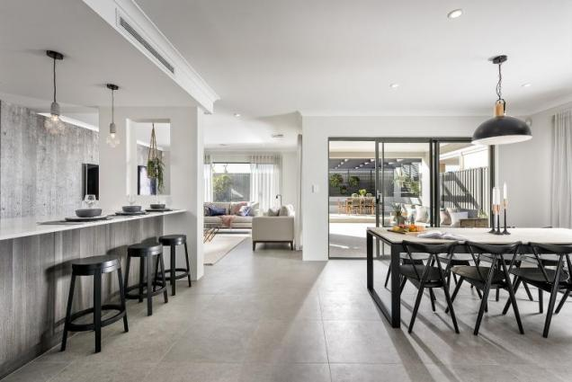 View Photo: vogue display home - open plan living
