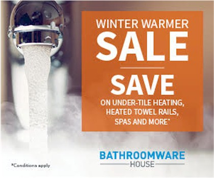 Winter Warmer Sale - Up to 60% off a wide range of beautiful bathroomware?