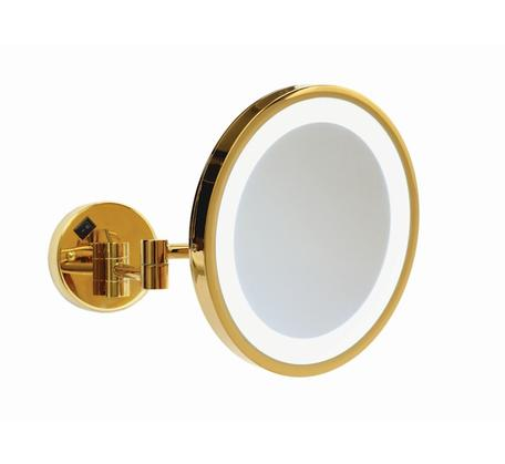 Ablaze Lit Magnifying Mirror Concealed 3x Mag - Gold