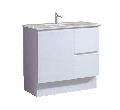 View Photo: Amalfi 900 Vanity on Kick With Caesarstone Top