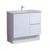 Amalfi 900 Vanity on Kick With Caesarstone Top