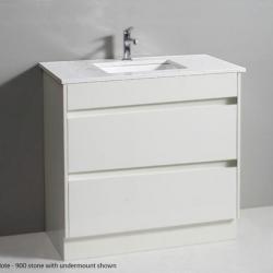 View Photo: Aria Bianco 900mm Vanity