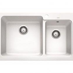 View Photo: Blanco Naya Double Bowl Drop-in Sink- White