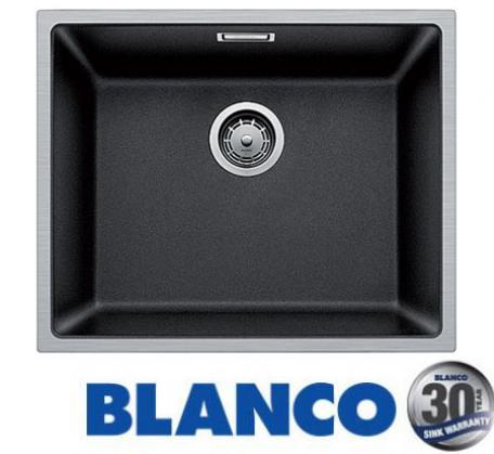 View Photo: Blanco Subline drop-in sink with steelframe - Anthracite