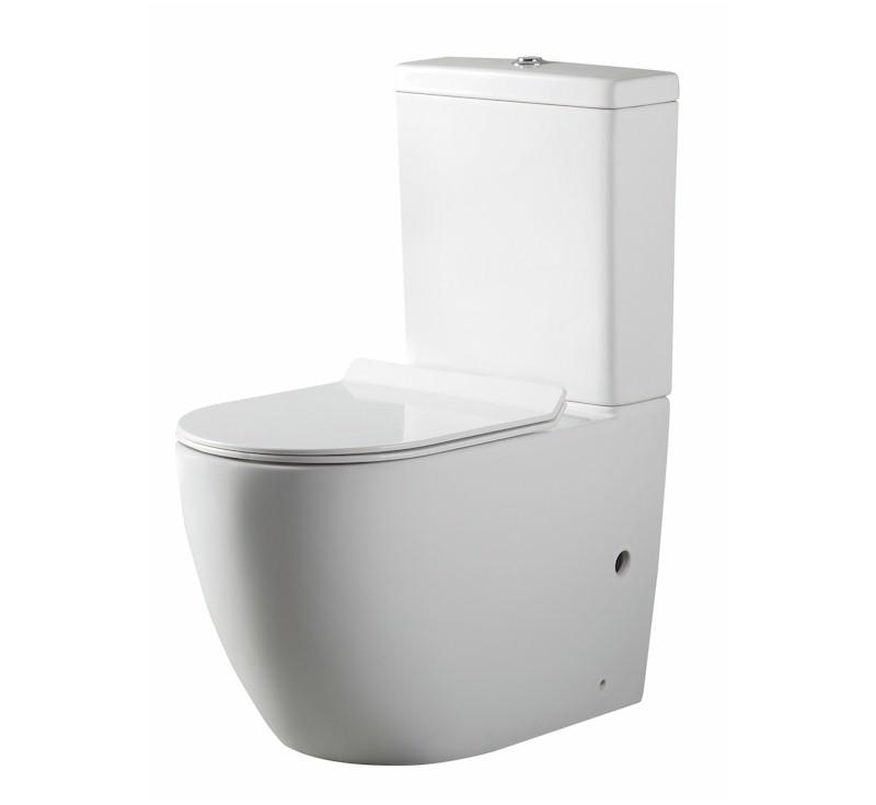 View Photo: Bracciano Rimless Nanoglaze Back to Wall Toilet - Geberit