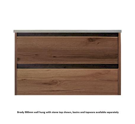 View Photo: Brody Wall Hung 900mm Vanity