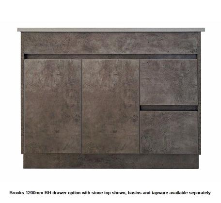 View Photo: Brooks 1200mm RH Drawer Vanity