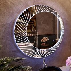 View Photo: Bucciano 800mm dia LED Anti Fog Mirror