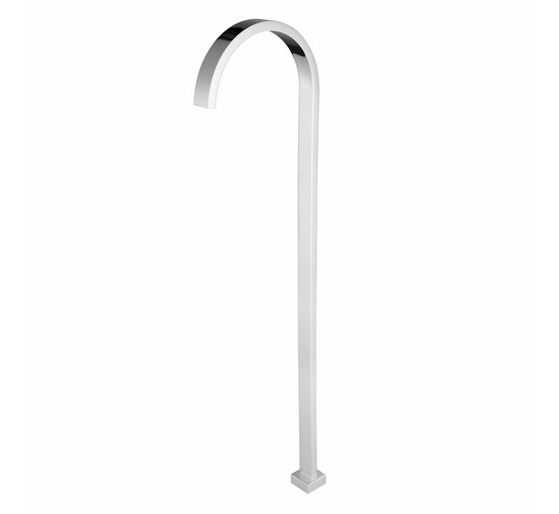 Chao Free Standing Bath Spout - Chrome