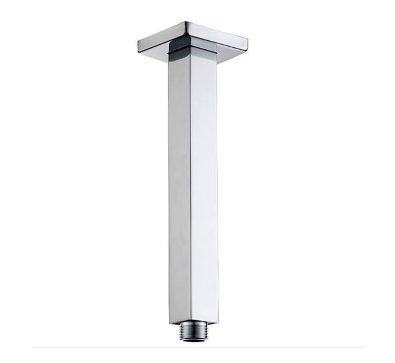 View Photo: Elba Square 400mm Ceiling Shower Arm - Chrome