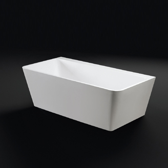 View Photo:  Fogo BACK TO WALL Stone Bath 1600