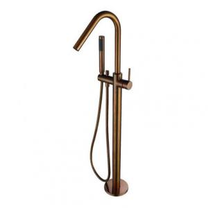 View Photo: Free Standing Bath Mixer - Champagne Finished