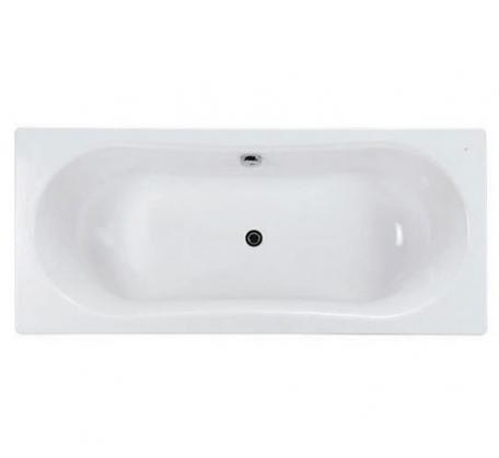 View Photo: Gala Emma Square 3.5mm Steel Inset Bath 1800 x 800