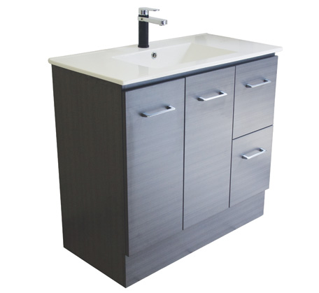 View Photo: Gateway 900  Vanity with China Top - Grey Laminate