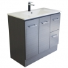 Gateway 900  Vanity with China Top - Grey Laminate