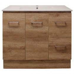View Photo: Genoa 900 Kick Oak Timbertone Vanity