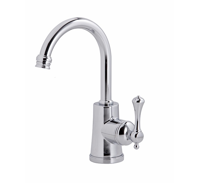 View Photo: Georgian Basin Mixer 35mm Lever Handle - Chrome