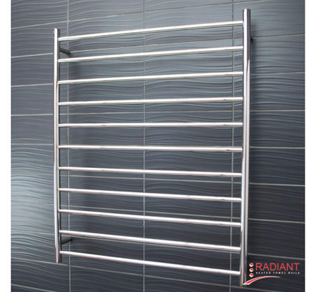 View Photo:  Heated Towel Ladder 900mm x 1100mm - 11 Round Bars