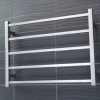 Heated Towel Rail 750x550mm - 5 Square Bars