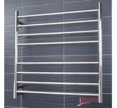View Photo:  Heated Towel Rail - 750x750mm - 8 Round Bars