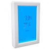 Heated Towel Rail Digital Touchscreen Timer Switch 3 Colours available - Vertical or Horizontal