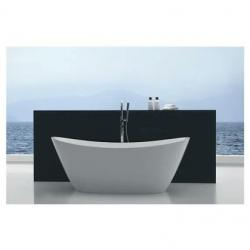 View Photo: High Back Free Standing Lucite Acrylic Bath 1500