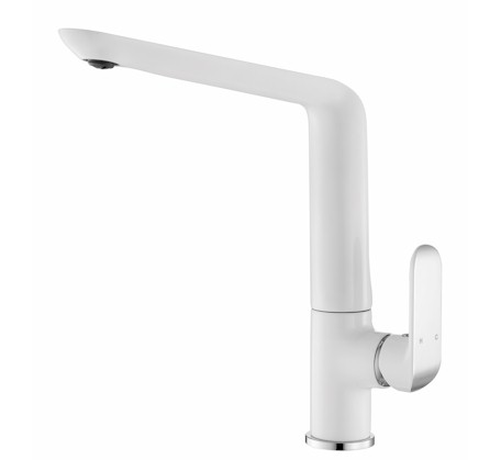 Kara White/Chrome Sink Mixer