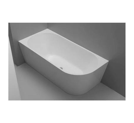 Left Hand Corner Fit Lucite Acrylic Bath 1700