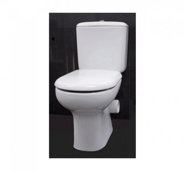 View Photo:  Liwa Skew Close Coupled Toilet Suite