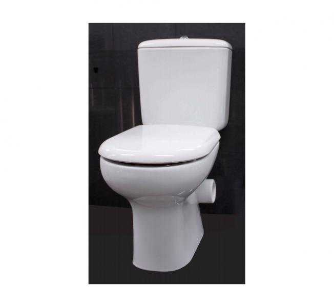 Liwa Skew Close Coupled Toilet Suite