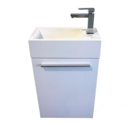 View Photo: Longreach 400 solid surface top vanity