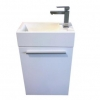 Longreach 400 solid surface top vanity