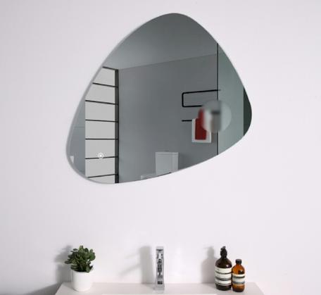 View Photo: Lugano LED Mirror 800mm Triangolare