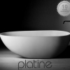 Luna Stone Bath from Plantine. 2 sizes, also matching basin
