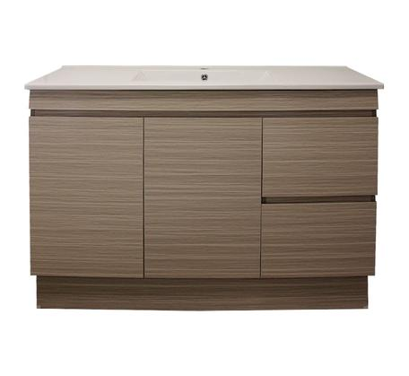 View Photo: Madrid 1200 Kick/Wall Vanity Single Bowl Siena