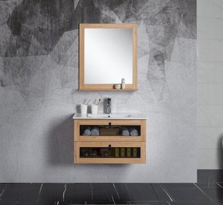 Manhattan Wall Hung Mirror - 2 Sizes