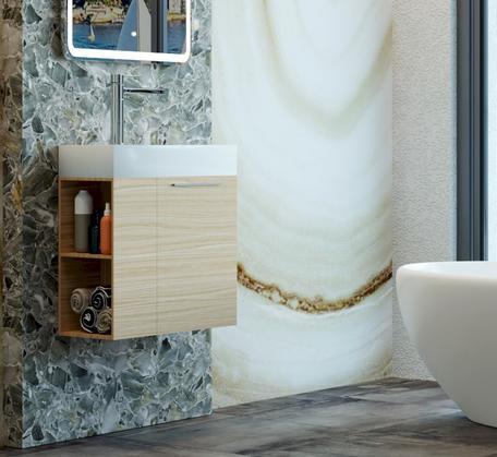 View Photo: Maria 600mm Wall Hung Vanity