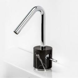 View Photo: Marmo Black Marquina Marble Basin Mixer - Chrome