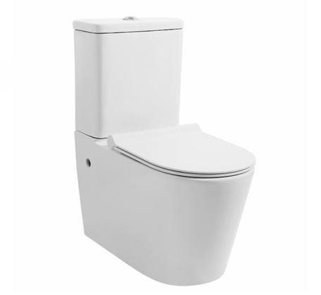 View Photo: Mezio Rimless Wall Faced Toilet Suite