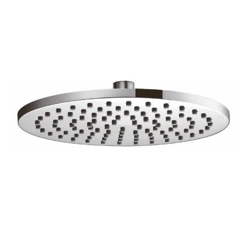 Milan Round 200mm Shower Head - Chrome
